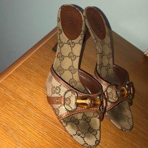 Gucci Sandal GG Heel